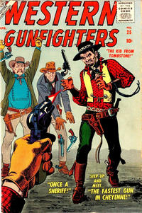 Cover Thumbnail for Western Gunfighters (Marvel, 1956 series) #25