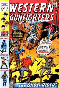 Cover Thumbnail for Western Gunfighters (Marvel, 1970 series) #3