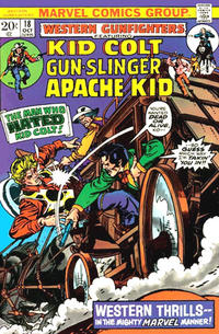 Cover Thumbnail for Western Gunfighters (Marvel, 1970 series) #18