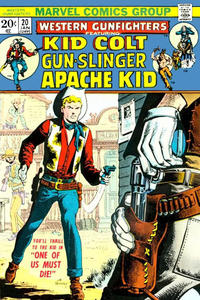 Cover Thumbnail for Western Gunfighters (Marvel, 1970 series) #20