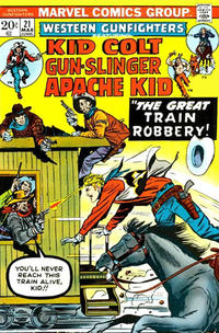 Cover Thumbnail for Western Gunfighters (Marvel, 1970 series) #21