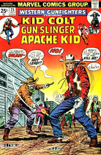 Cover Thumbnail for Western Gunfighters (Marvel, 1970 series) #25