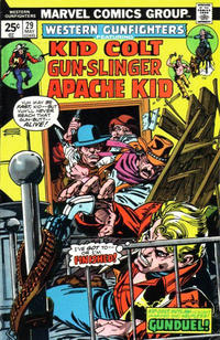 Cover Thumbnail for Western Gunfighters (Marvel, 1970 series) #29