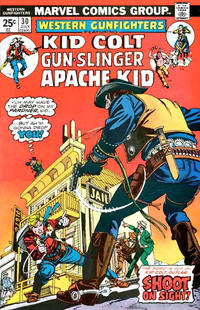 Cover Thumbnail for Western Gunfighters (Marvel, 1970 series) #30