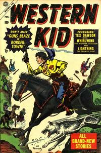 Cover Thumbnail for Western Kid (Marvel, 1954 series) #2