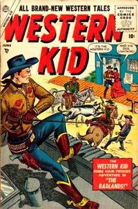 Cover Thumbnail for Western Kid (Marvel, 1954 series) #4