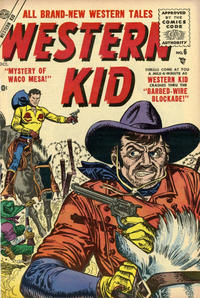Cover Thumbnail for Western Kid (Marvel, 1954 series) #6