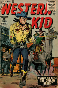 Cover Thumbnail for Western Kid (Marvel, 1954 series) #11