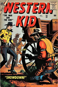 Cover Thumbnail for Western Kid (Marvel, 1954 series) #13