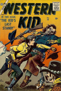 Cover Thumbnail for Western Kid (Marvel, 1954 series) #14