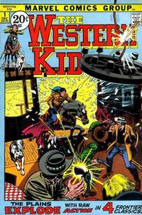 Cover Thumbnail for The Western Kid (Marvel, 1971 series) #1