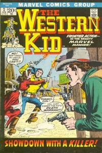 Cover Thumbnail for The Western Kid (Marvel, 1971 series) #2