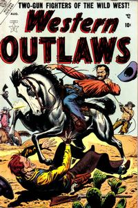 Cover Thumbnail for Western Outlaws (Marvel, 1954 series) #4