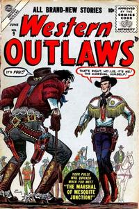 Cover Thumbnail for Western Outlaws (Marvel, 1954 series) #9