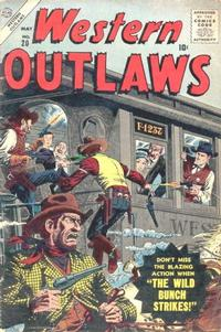 Cover Thumbnail for Western Outlaws (Marvel, 1954 series) #20