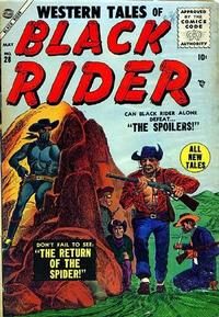 Cover Thumbnail for Western Tales of Black Rider (Marvel, 1955 series) #28