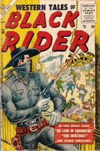 Cover Thumbnail for Western Tales of Black Rider (Marvel, 1955 series) #30