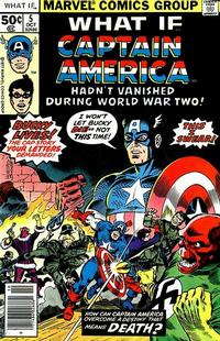 Cover for What If? (Marvel, 1977 series) #5