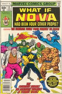 Cover Thumbnail for What If? (Marvel, 1977 series) #15 [Newsstand Edition]