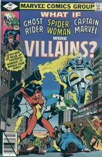 Cover for What If? (Marvel, 1977 series) #17 [Direct]
