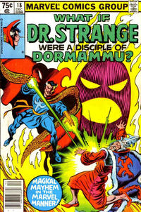 Cover Thumbnail for What If? (Marvel, 1977 series) #18 [Newsstand]