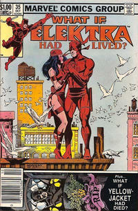 Cover Thumbnail for What If? (Marvel, 1977 series) #35 [Newsstand]