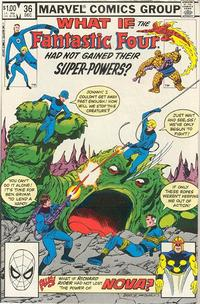 Cover Thumbnail for What If? (Marvel, 1977 series) #36 [Direct]