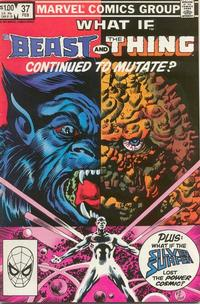Cover Thumbnail for What If? (Marvel, 1977 series) #37 [Direct]