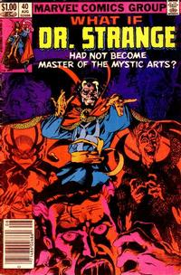 Cover Thumbnail for What If? (Marvel, 1977 series) #40 [Newsstand]
