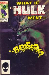Cover Thumbnail for What If? (Marvel, 1977 series) #45 [Direct Edition]