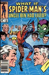 Cover Thumbnail for What If? (Marvel, 1977 series) #46 [Newsstand]