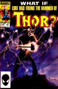 Cover Thumbnail for What If? (Marvel, 1977 series) #47 [Direct]