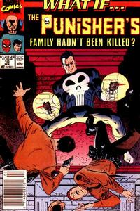 Cover Thumbnail for What If...? (Marvel, 1989 series) #10 [Newsstand]