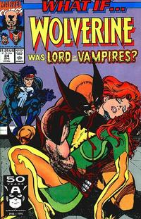 Cover Thumbnail for What If...? (Marvel, 1989 series) #24