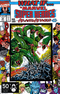 Cover Thumbnail for What If...? (Marvel, 1989 series) #25 [Direct]