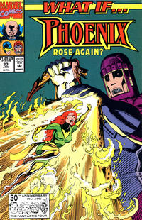 Cover Thumbnail for What If...? (Marvel, 1989 series) #33 [Direct]