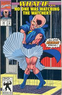 Cover Thumbnail for What If...? (Marvel, 1989 series) #34 [Direct]