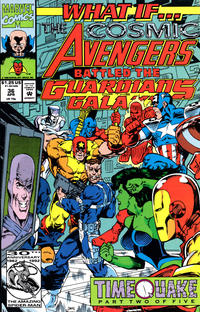Cover Thumbnail for What If...? (Marvel, 1989 series) #36