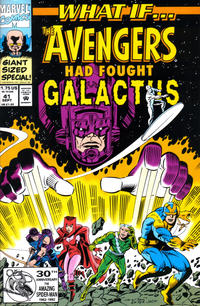 Cover Thumbnail for What If...? (Marvel, 1989 series) #41 [Direct]