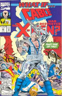 Cover Thumbnail for What If...? (Marvel, 1989 series) #46 [Direct]