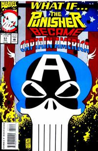 Cover Thumbnail for What If...? (Marvel, 1989 series) #51 [Direct Edition]