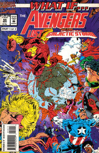 Cover Thumbnail for What If...? (Marvel, 1989 series) #55