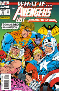 Cover Thumbnail for What If...? (Marvel, 1989 series) #56 [Direct Edition]