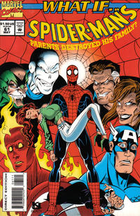 Cover Thumbnail for What If...? (Marvel, 1989 series) #61