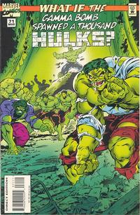 Cover Thumbnail for What If...? (Marvel, 1989 series) #71 [Direct Edition]