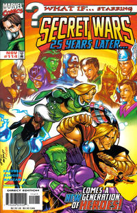Cover Thumbnail for What If...? (Marvel, 1989 series) #114 [Direct Edition]
