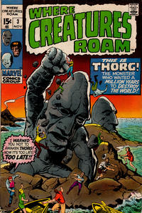 Cover Thumbnail for Where Creatures Roam (Marvel, 1970 series) #3