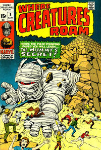 Cover Thumbnail for Where Creatures Roam (Marvel, 1970 series) #8