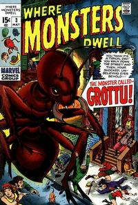 Cover for Where Monsters Dwell (Marvel, 1970 series) #3