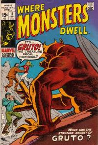 Cover Thumbnail for Where Monsters Dwell (Marvel, 1970 series) #11